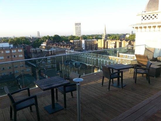 Hilton London Paddington : deck