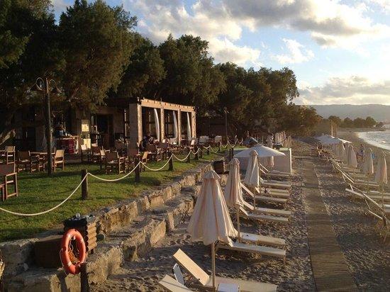 Anemon Villas : Beach club in Nopigia