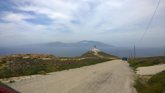 Armenistis Lighthouse: well worth the drive