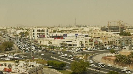 Radisson Blu Hotel, Doha: morgendlicher Blick