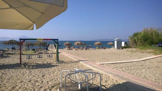 Mastichari Bay Hotel: plage