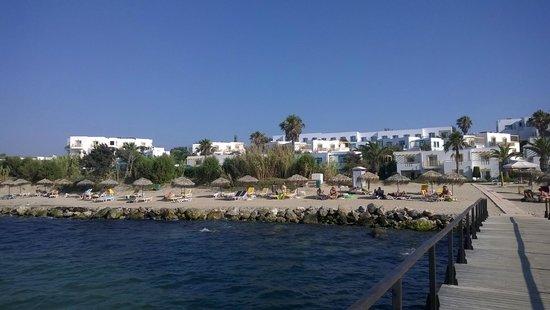 Mastichari Bay Hotel: Vue du ponton