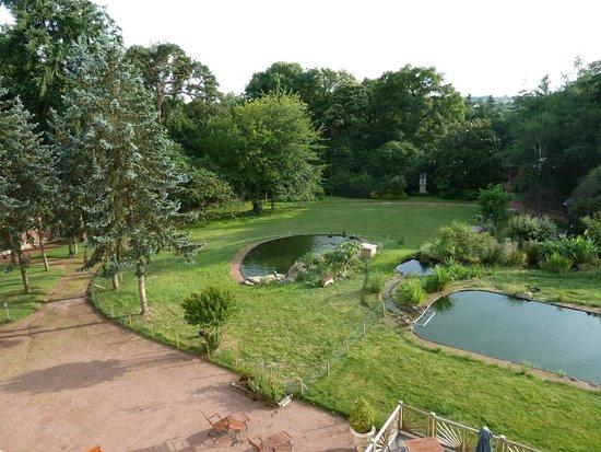 Chateau du Boisniard: vue de la chambre