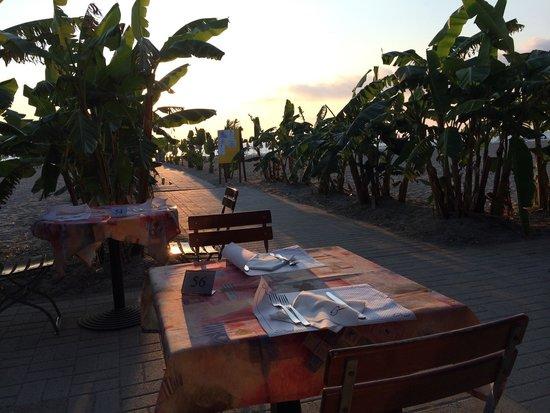 Garden Resort Calabria: Pizzeria sulla spiaggia
