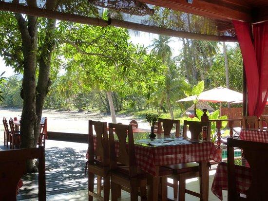 Cyana Beach Resort: Dining and breakfast area