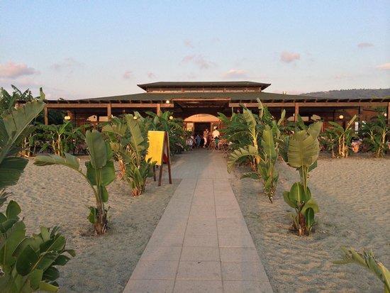 Garden Resort Calabria: Lido dalla spiaggia