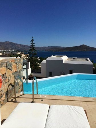 Tui Sensimar Elounda Village Resort & Spa by Aquila : room with private pool- just perfect!