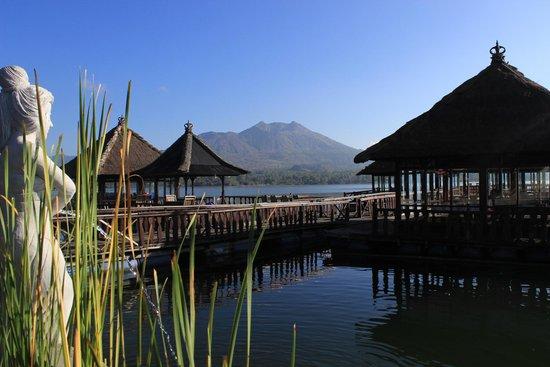Kedisan Resort & Resto Apung: nice views from restaurant