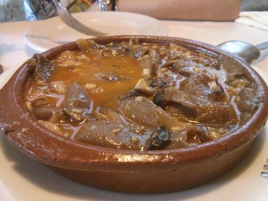 Restaurante El Rancho: Setas