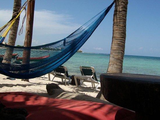 La Buena Vida Restaurant : Hamaca, playa y siesta