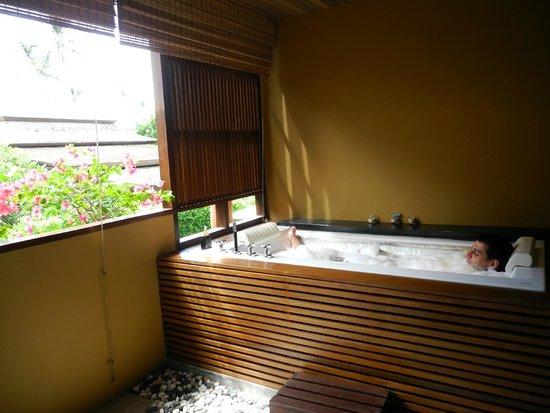 Deva Samui Resort & Spa: sacada do quarto