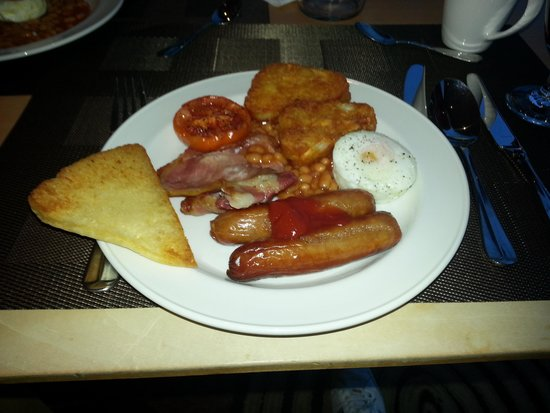 Hilton Belfast : My breakfast