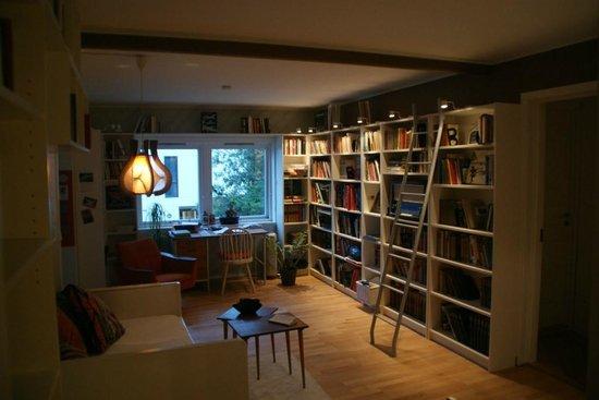 Tromso Bed U0026 Books: Living Room