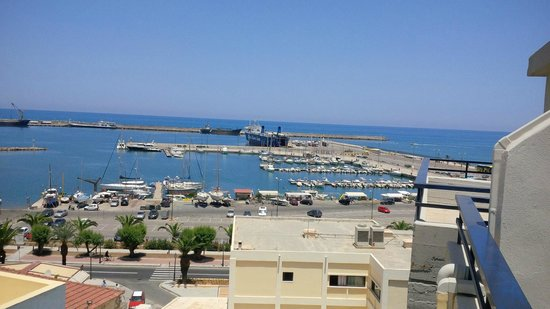 Jason Apartments Hotel : Sea view