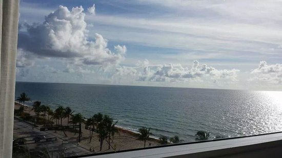 Sonesta Fort Lauderdale Beach: view from our room