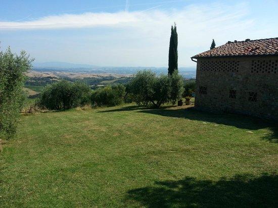 Rigone in Chianti : Haus und Aussicht