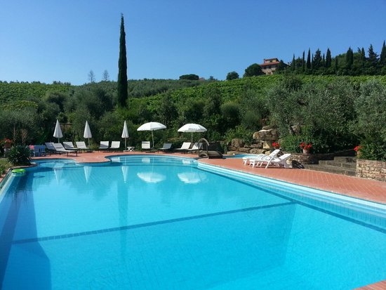 Rigone in Chianti: Pool
