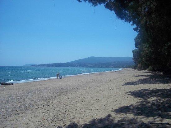 Koroni, Greece: spiaggia
