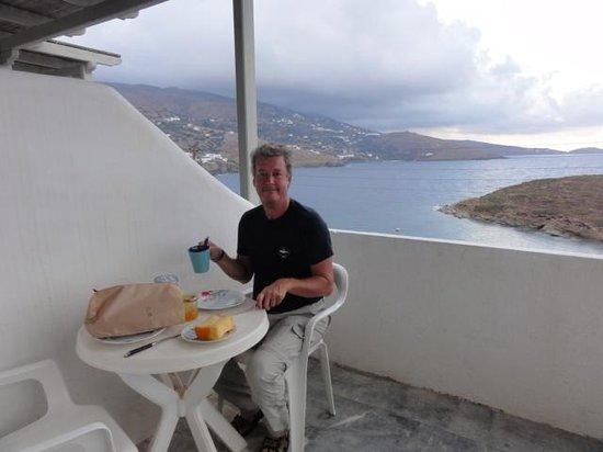 Villas Nora-Norita: Op het balkon met uitzicht