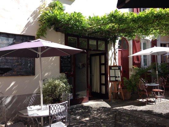 Restaurant des Voisins : La terrasse