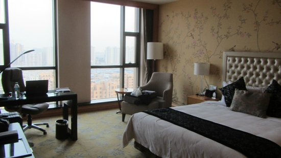 Binjiang International Hotel : Nice big window, so alot of natural light