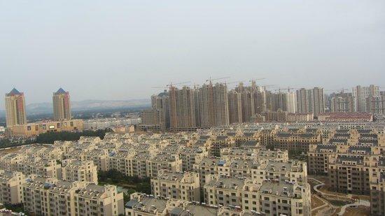 Binjiang International Hotel : View from window.