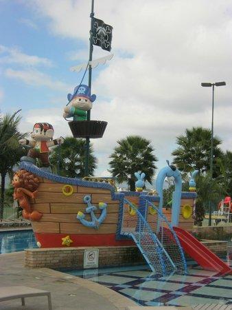 Bourbon Atibaia Convention & Spa Resort: Piscina Infantil