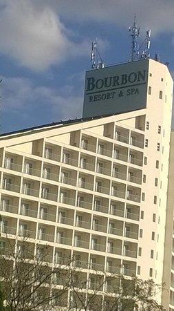 Bourbon Atibaia Convention & Spa Resort: Prédio do Hotel
