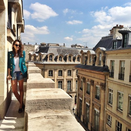 Park Hyatt Paris - Vendome: My balcony!