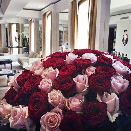 Park Hyatt Paris - Vendome: My flowers