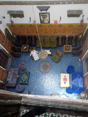 Riad Nassim living room