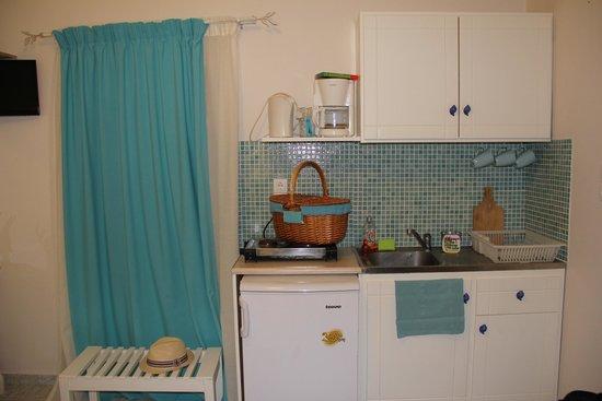Evizorzia Villas: Кухня