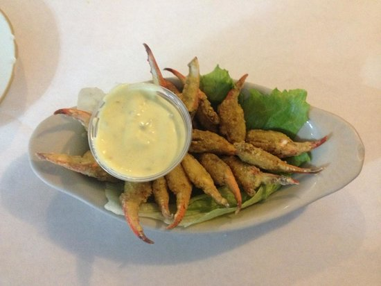 Leeville Seafood Restaurant: Fried Crab Claws