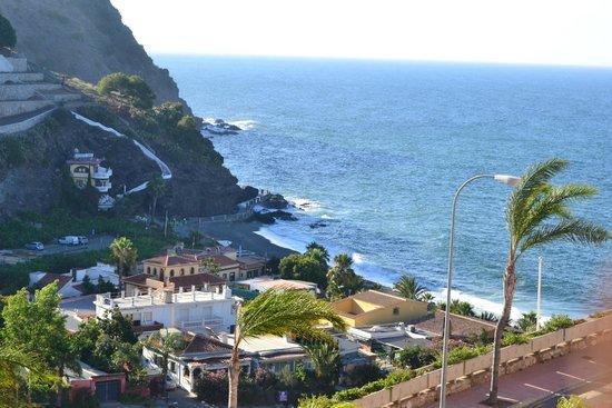 Playacalida Spa Hotel: Vista desde la terraza de la habitación