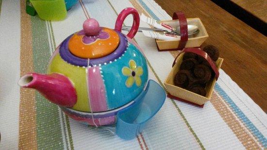 La Creperie des Delices: Thé et gourmandises