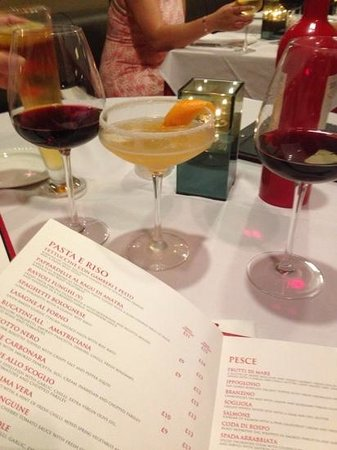 Rosso Restaurant and Bar : Amazing cocktail