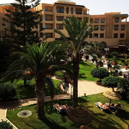 Royal Kenz Hotel Thalasso & Spa : Royal Kenz Gardens