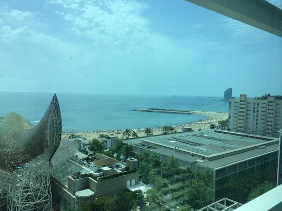 Hotel Arts Barcelona : Sea View from Room
