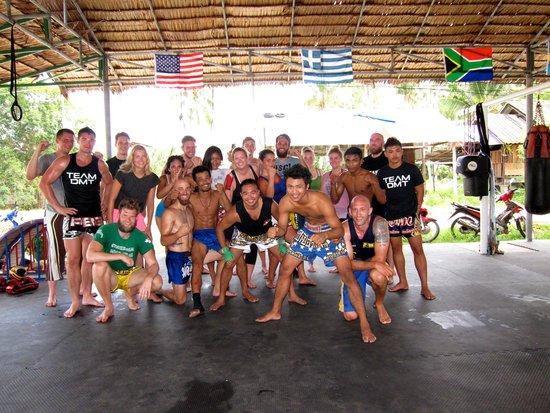 Diamond Muay Thai: Last day of training