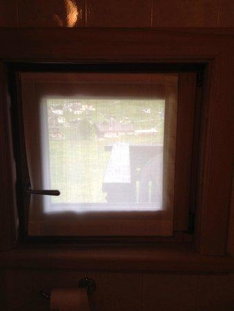 Bar Al Chestelet: vista balcone dal bagno(balcone di un altra stanza)