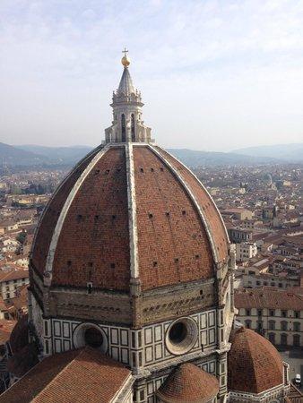 Museo dell'Opera del Duomo : Cupola del Duomo dal Campanile di Giotto