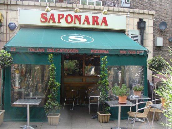 Photo of Italian Restaurant Saponara at 23 Prebend Street, London N1 8PF, United Kingdom