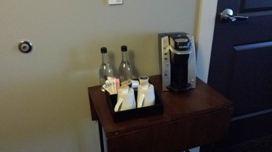 Ambassador Hotel Wichita, Autograph Collection: Coffee station was a Keurig.