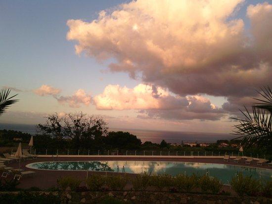Marinella Hotel: tramonto