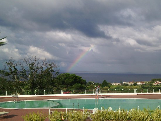 Marinella Hotel: arcobaleno