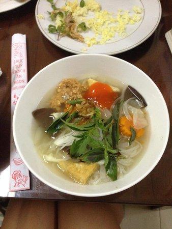 Minh Hien Vegetarian Restaurant: Vegetarian Pho Soup