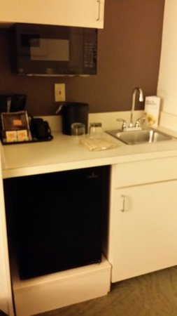 SpringHill Suites Orlando Convention Center/International Drive Area : The kitchenette