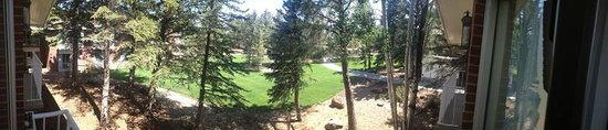 Little America Hotel Flagstaff : Panoramic view from balcony