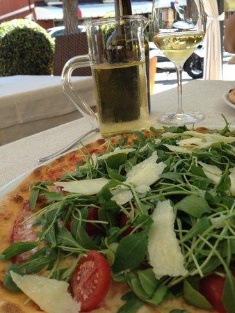 Al Postiglione: Пицца Фреско