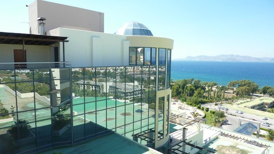 Kipriotis Panorama Hotel & Suites: Aus dem Zimmer 707